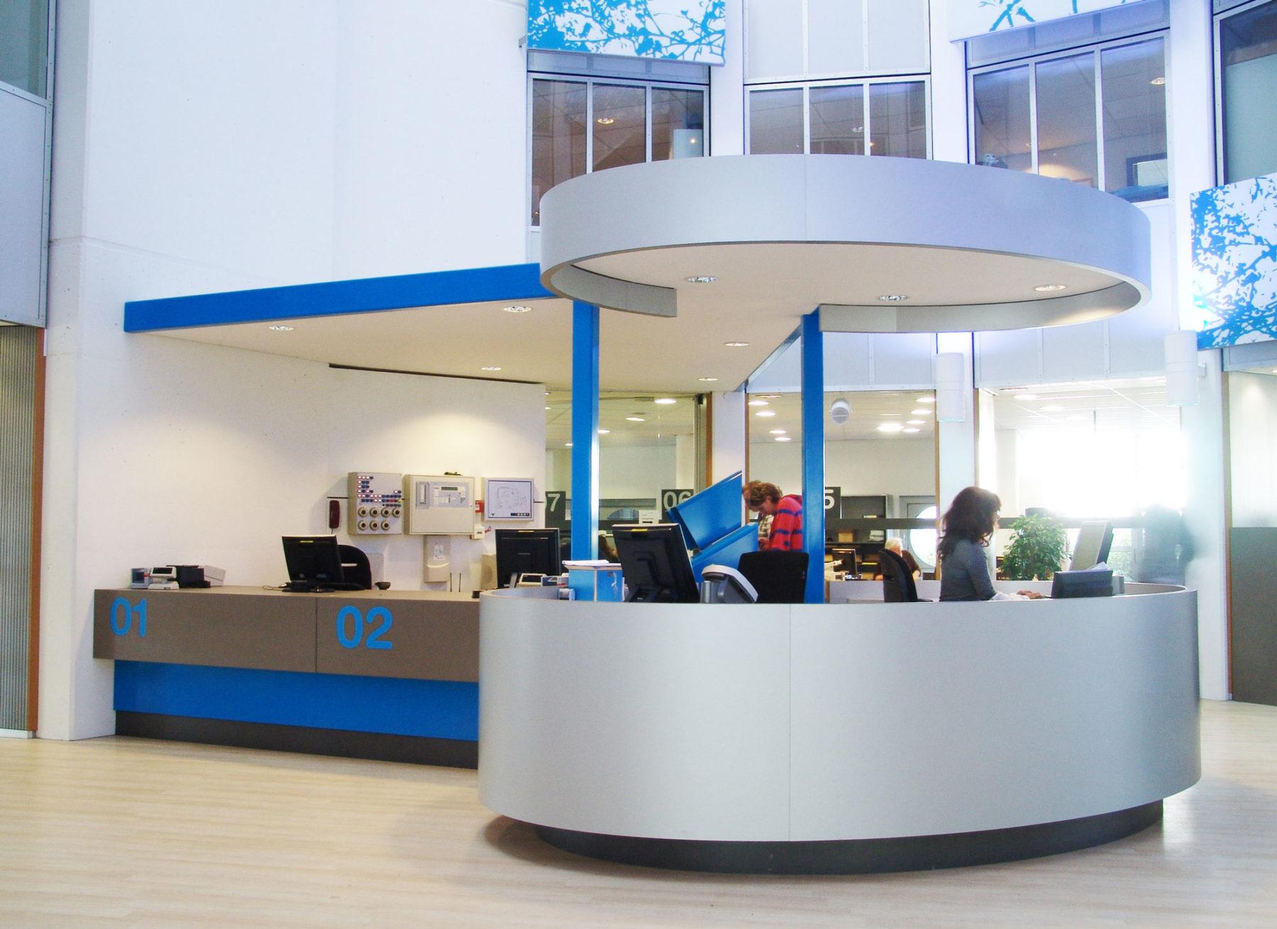 Publieksruimte gemeente Delft, ontwerp Jan Stigt