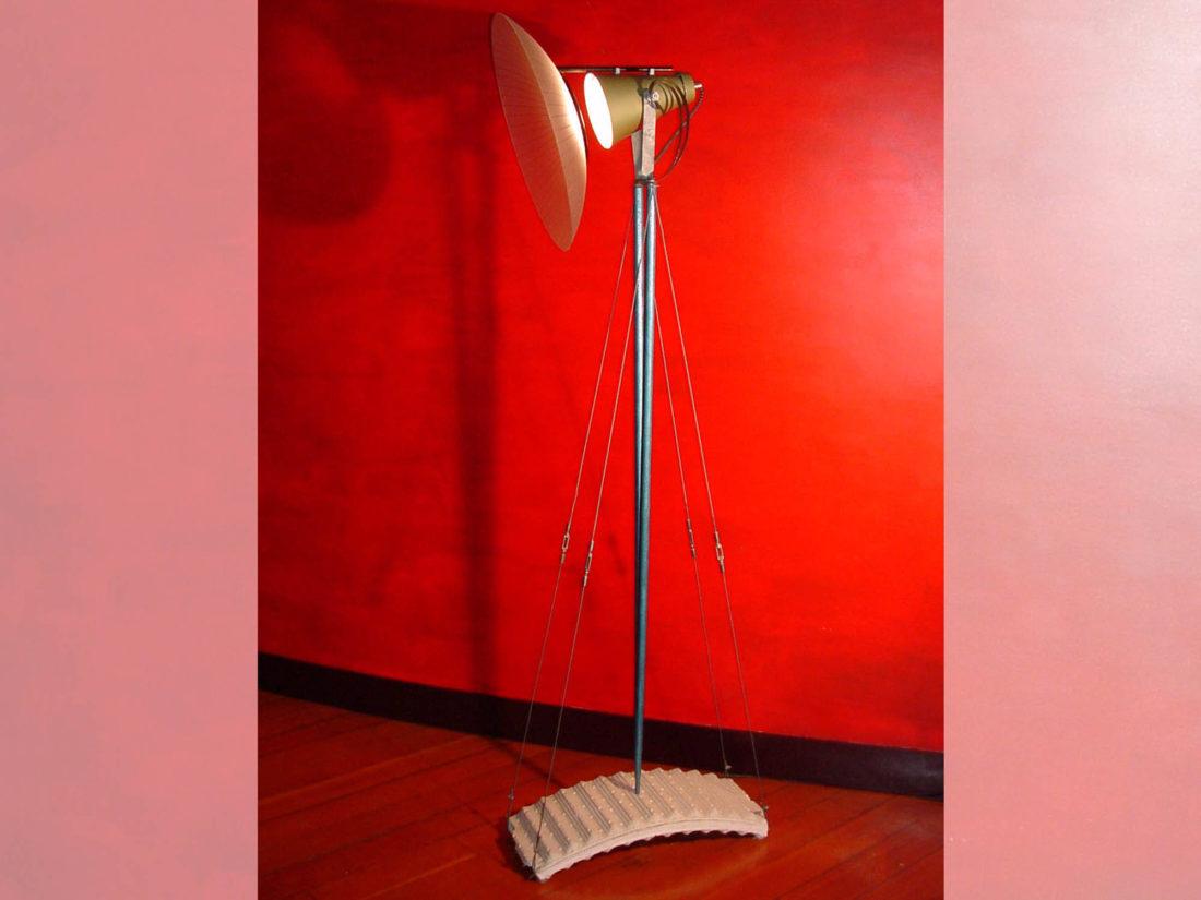 Staande lamp, ontwerp Jan Stigt